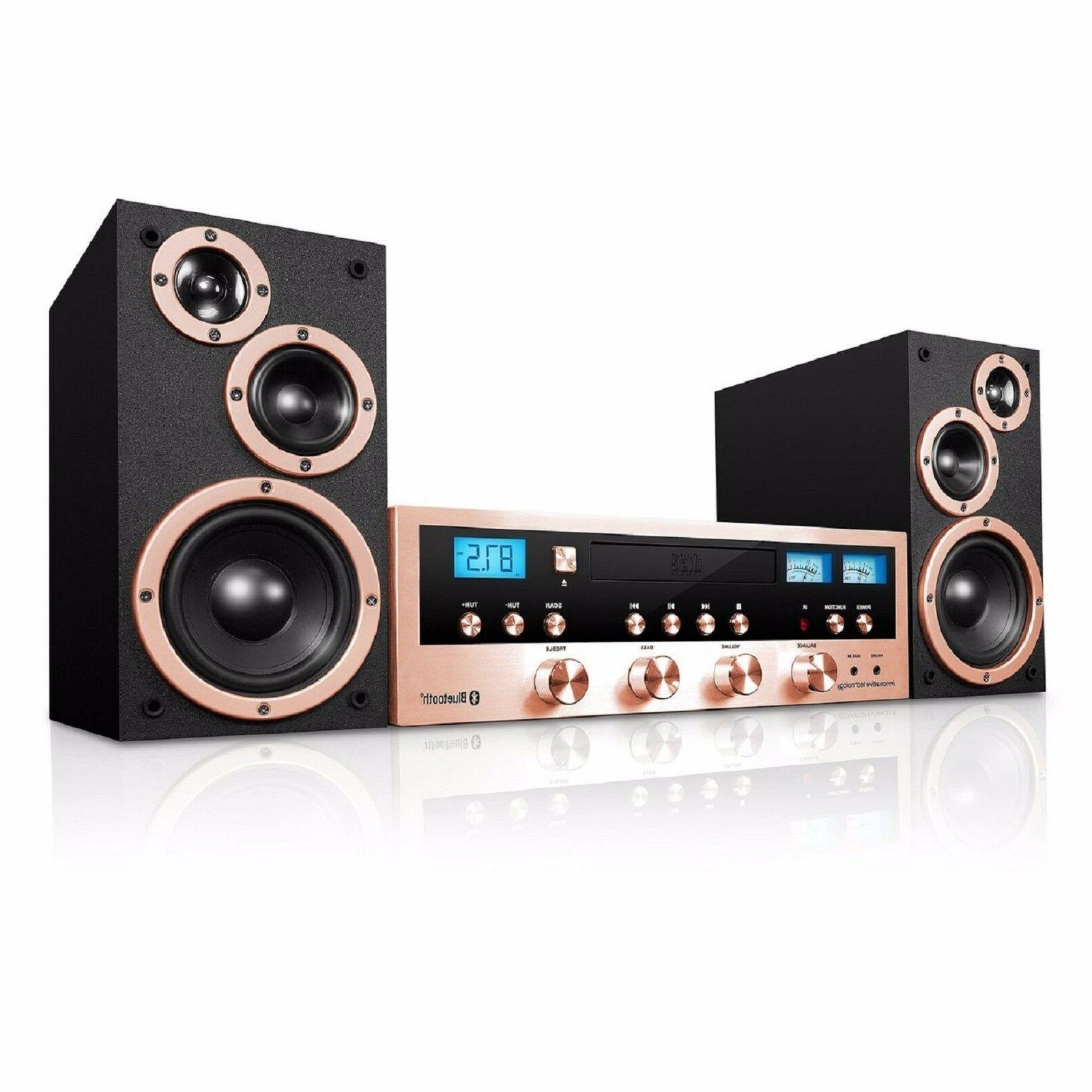 classic retro bluetooth stereo system