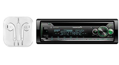 NEW Pioneer DEH-S5000BT Single 1 DIN CD MP3 Player Bluetooth