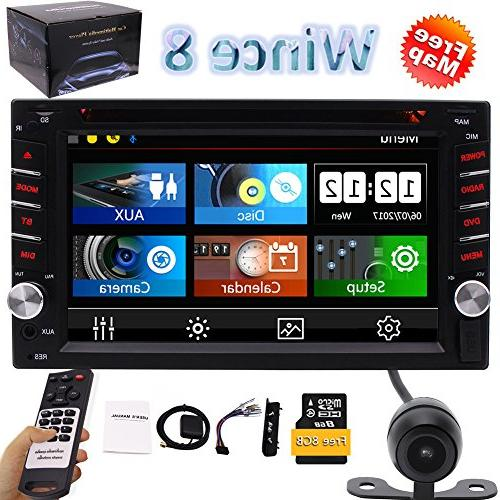double 2din dash car stereo