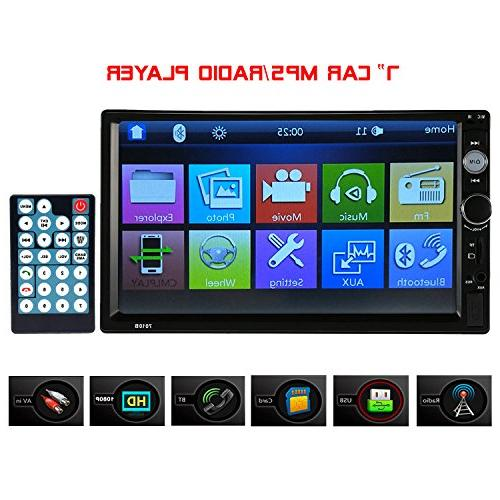 double din car stereo touch