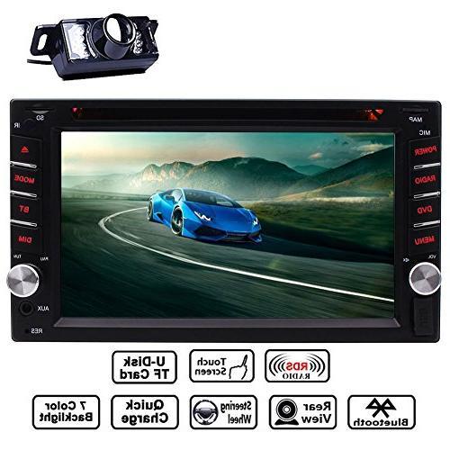 double din touchscreen dash bluetooth