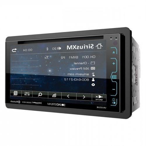 "SOUNDSTREAM DOUBLE DIN VR-65XB DVD/CD MP3 PLAYER 6.2"" LCD BL"