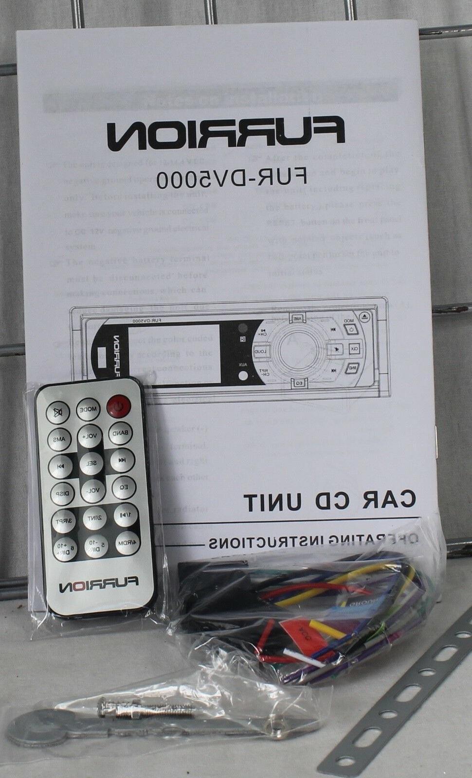 NEW DV5000 Stereo AM/FM CD Remote Face