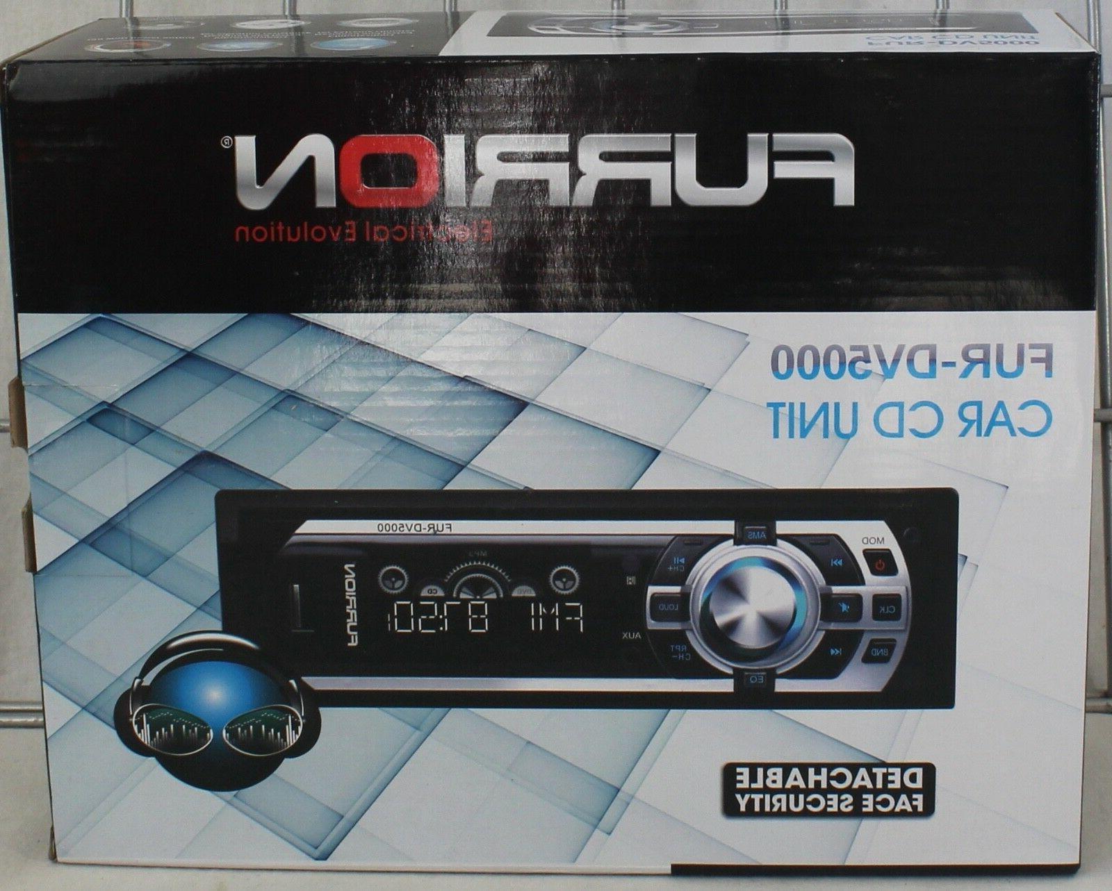 NEW DV5000 Car Stereo AM/FM SD Face