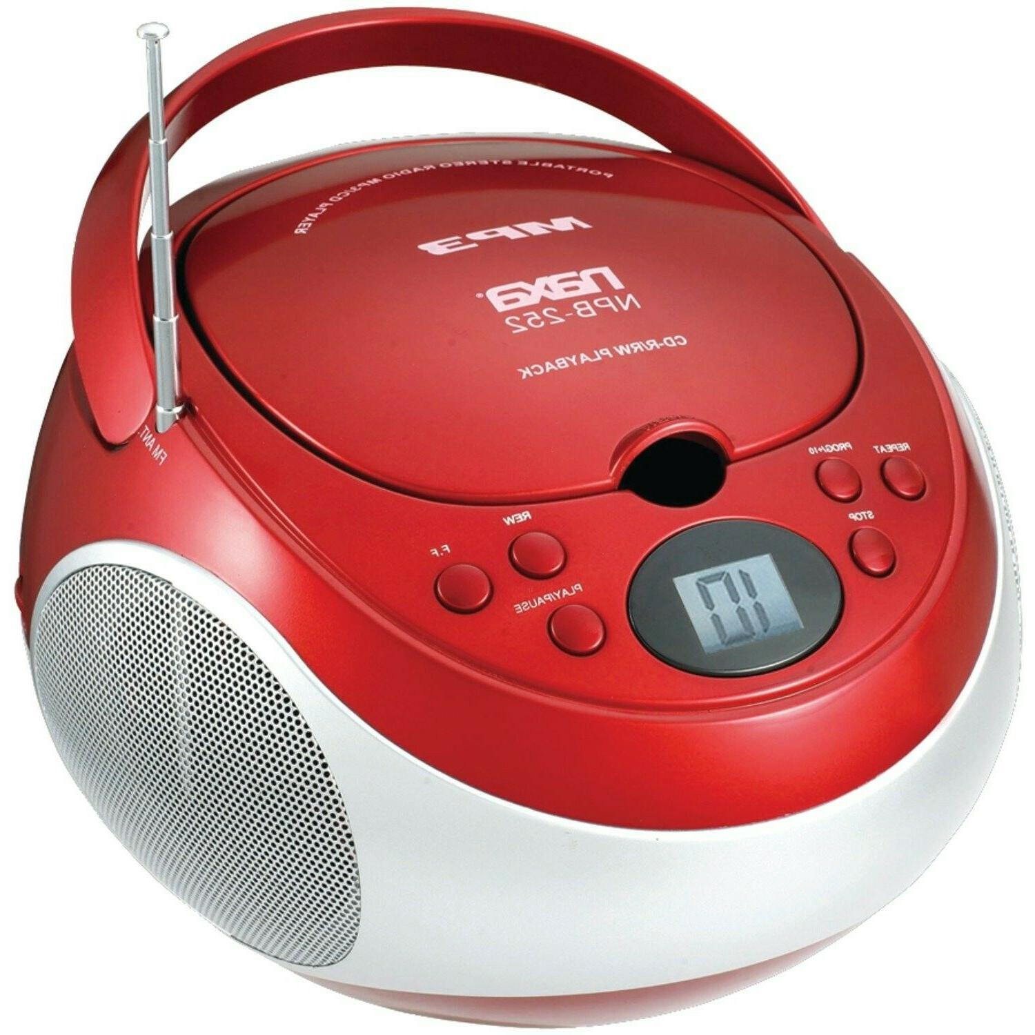 electronics portable mp3 cd player with am
