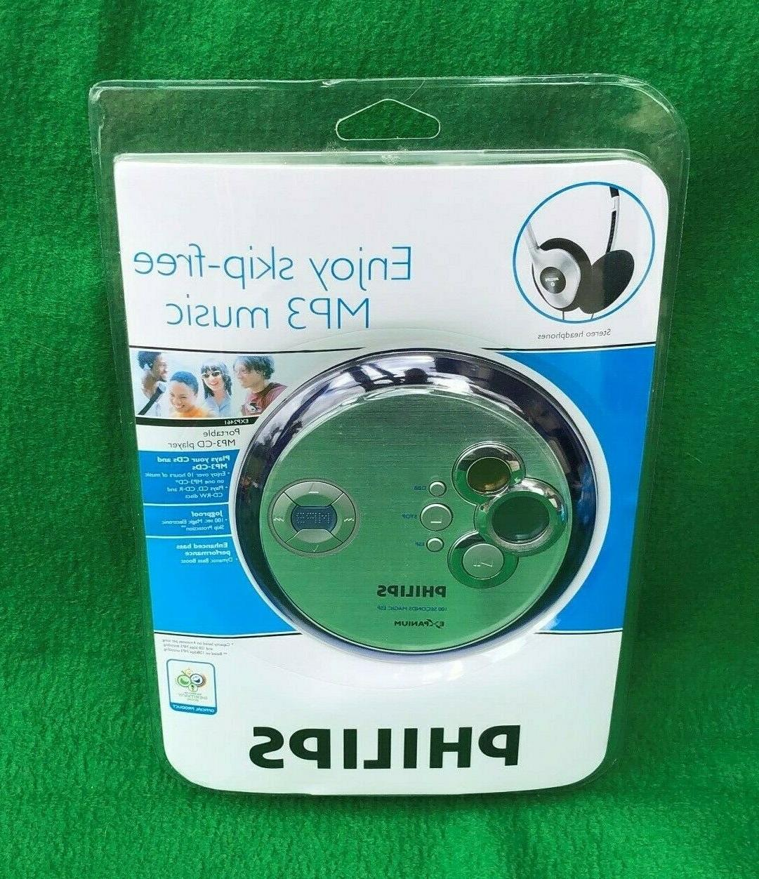 exp2461 personal cd mp3 player