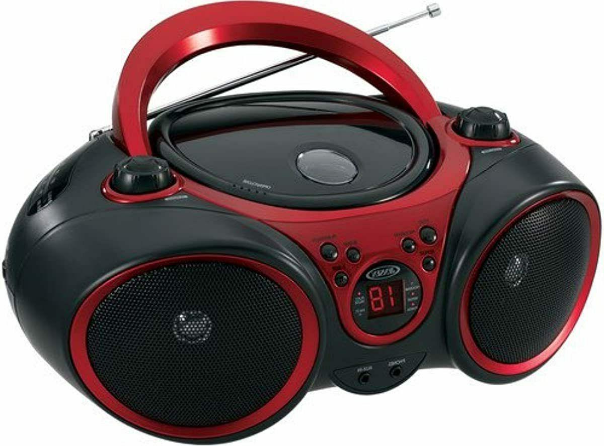 jensen cd 490 portable stereo cd player