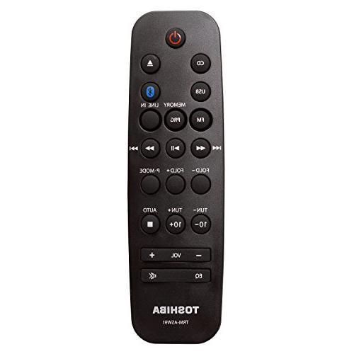 Toshiba Speaker Sound FM, AUX and Remote Control