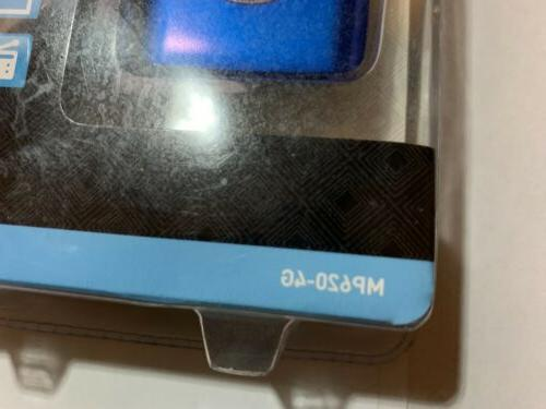 Coby Blue MP3/Video/ Photos Media Player NEW