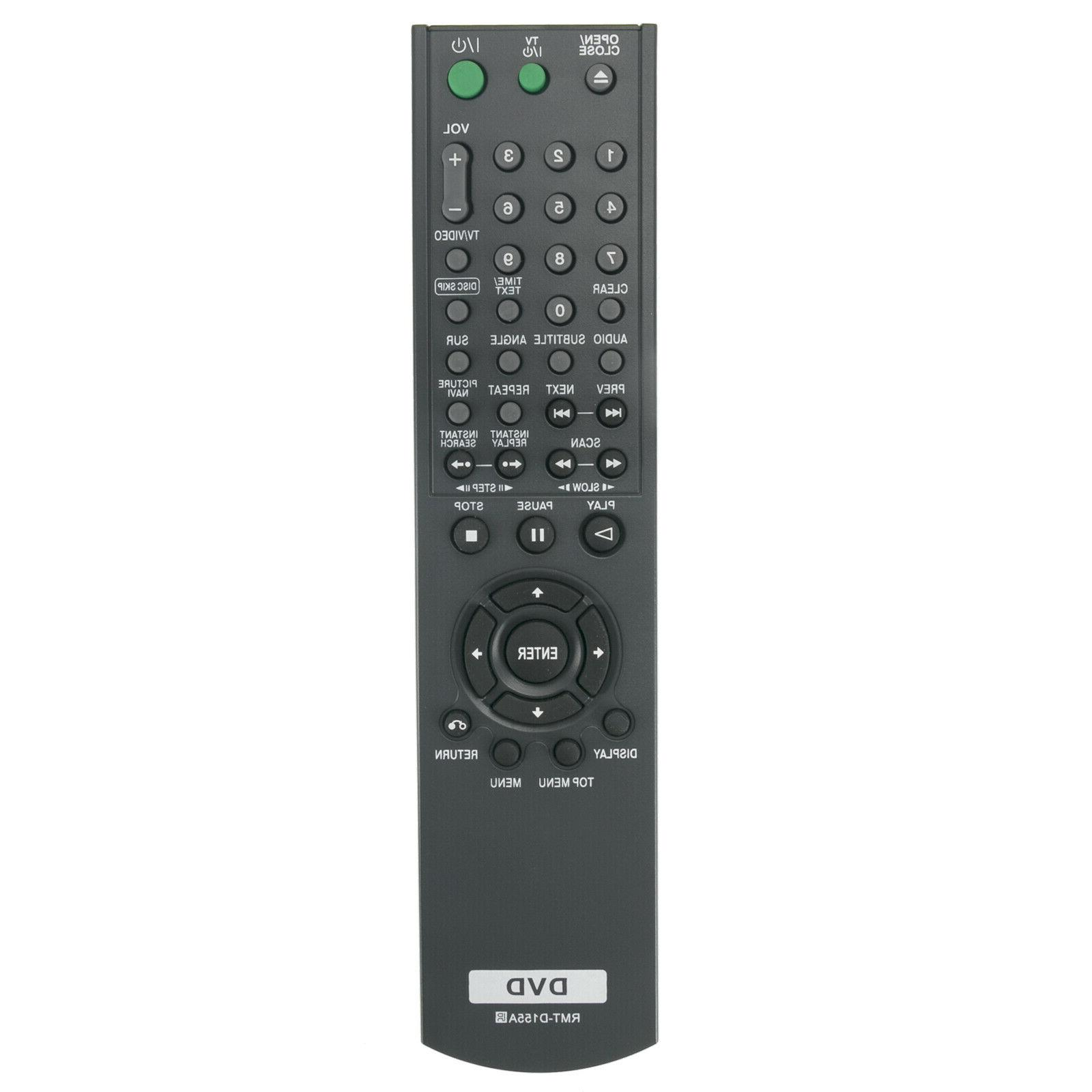 New Control RMT-D155A For Sony Player DVPNC665P