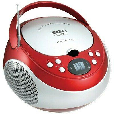 npb 251rd portable cd player