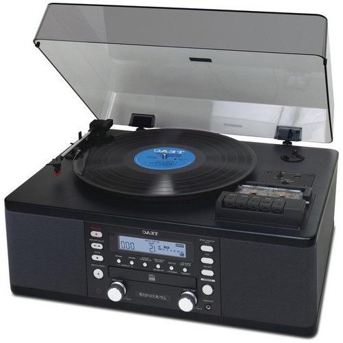 one hi fi stereo turntable