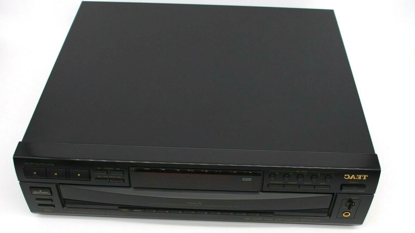 Teac 5 Compact CD -Include Remote