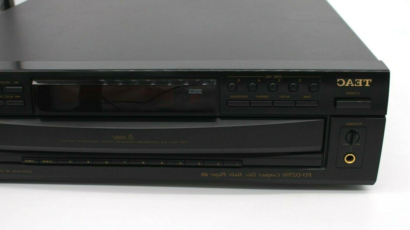 Teac PD-D2700 Compact CD