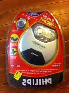 Philips AX5122 Portable CD Player 45 Second ESP Jogproof