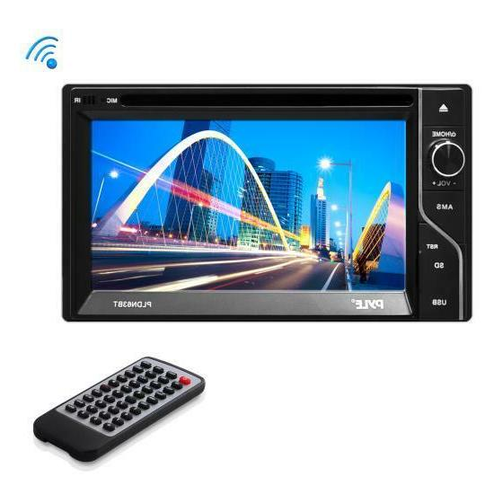 pldn63bt double din bluetooth touch