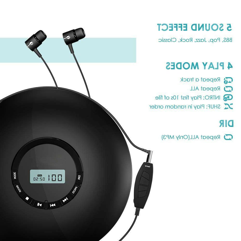 Portable CD Walkman Rechargeable