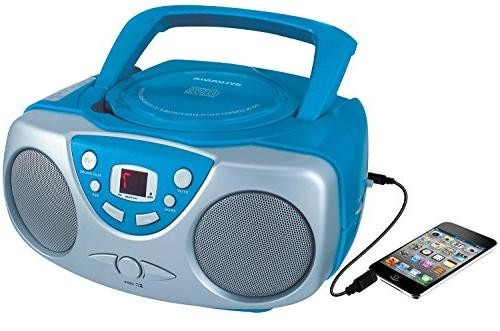 portable cd player am fm