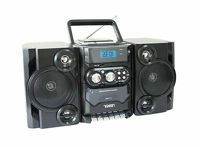 Naxa Portable MP3/CD Player with AM/FM Stereo Radio Cassette
