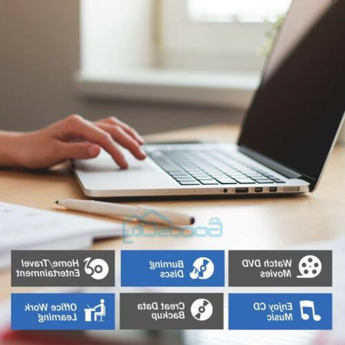 Portable 3.0 DVD Burner Reader Laptop