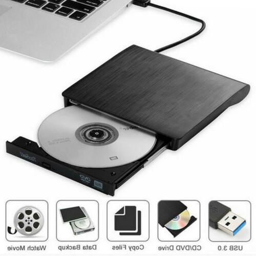 Portable 3.0 Burner Reader Player Laptop PC