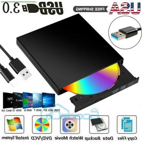 portable slim external usb 3 0 dvd