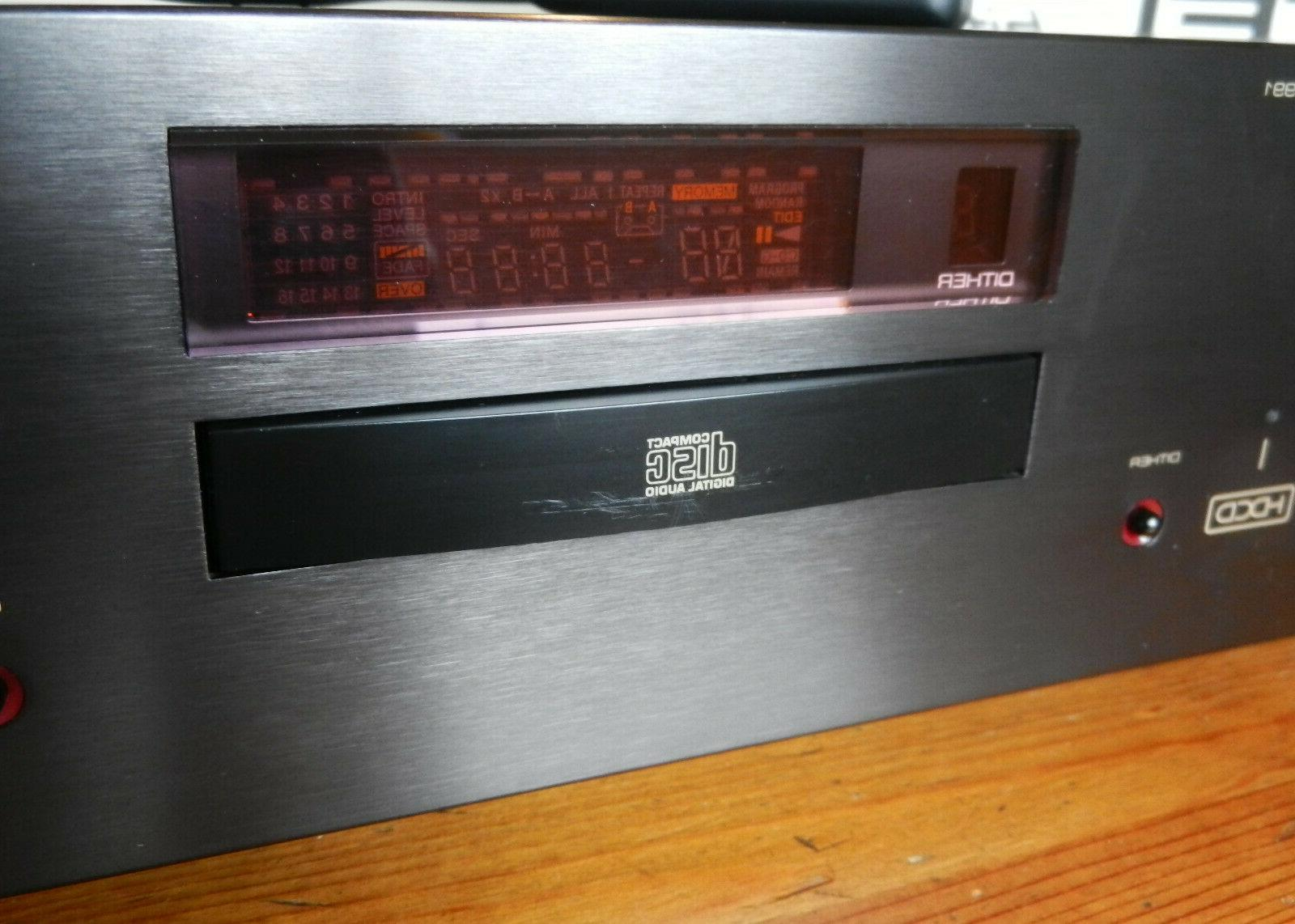 Rotel CD Balanced HDCD Remote,Box &Manual