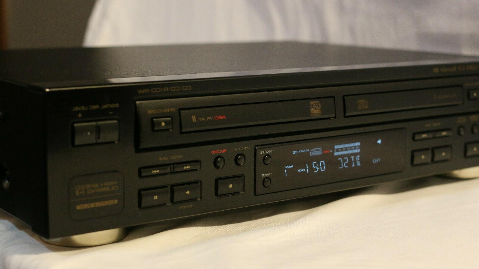 Teac RW-D200 Player / Recorder ~ Tested ~ Clean