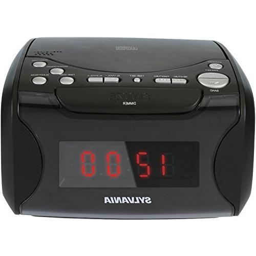 scr4986 alarm clock radio