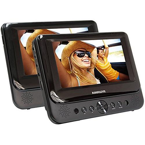 sdvd7750 dual portable dvd player