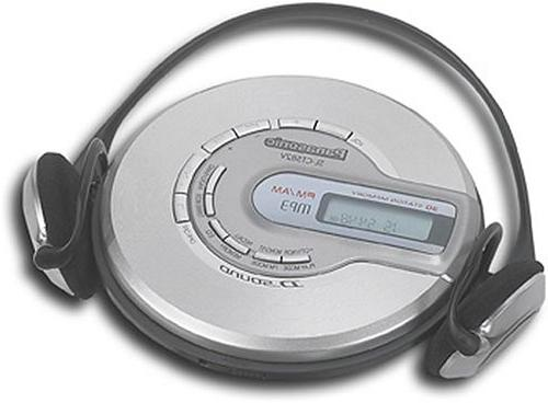 sl ct582v portable cd player