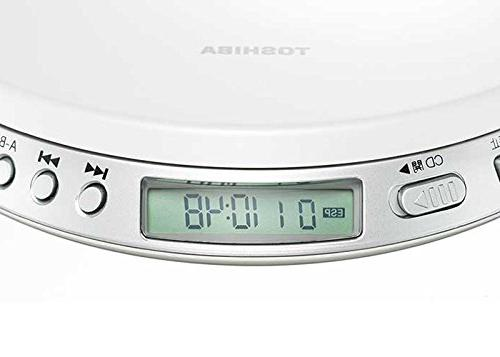 TOSHIBA Speed Control Portable CD Player TY-P1-W from JAPAN