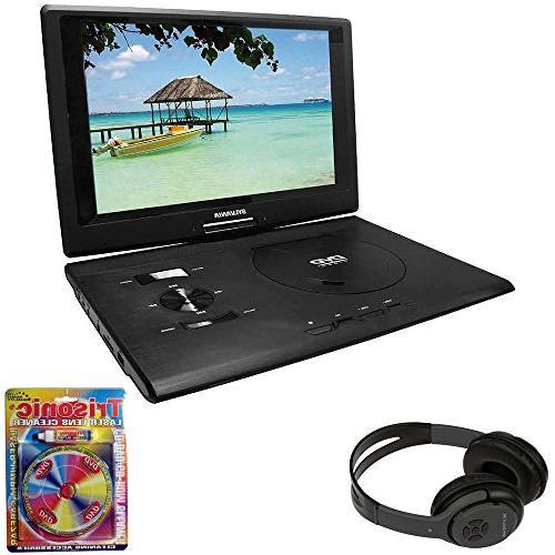 sylvania swivel portable dvd player