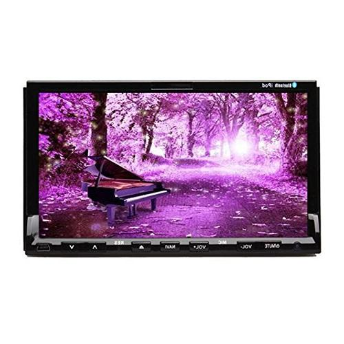 touch universal double din car