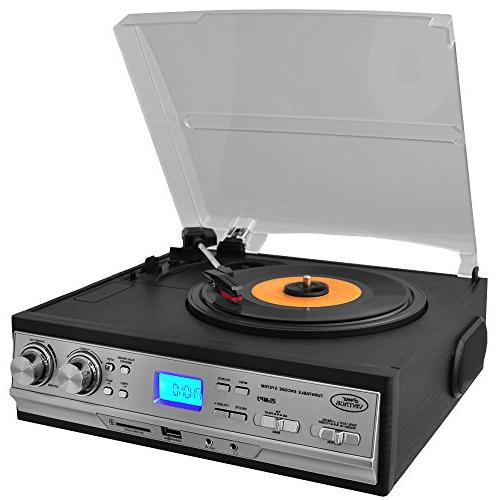 updated version retro turntable