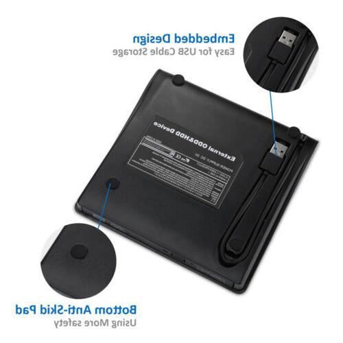 Portable 3.0 CD Drive Burner Reader Player Laptop