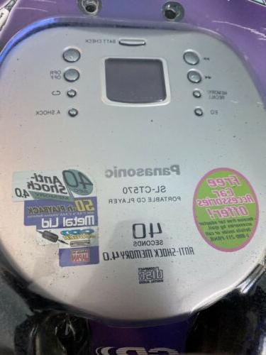 Vintage Panasonic Portable CD Player New!!!