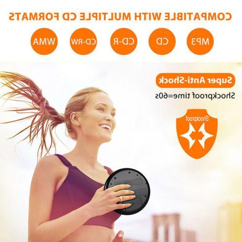 Walkman Portable Player Stereo Speakers Anti-Skip USB+Headsets