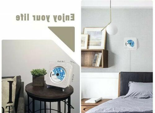 Wall Mounted Player FM bluetooth Music with Control
