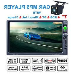 LSLYA 7inch HD Bluetooth MP5 Player TFT Touch Screen FM AM R