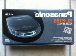 PANASONIC MASH Portable CD Player SL-S165 Slim/Compact Desig