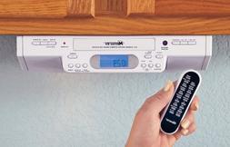 Memorex® Under Cabinet Mount AM / FM / Clock Radio / CD Pla