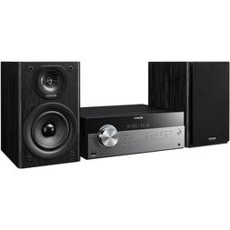 Sony Micro Hi-fi Shelf System with Single Disc Cd Player, Bl