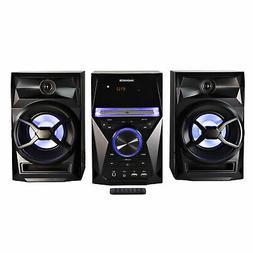 Magnavox MM441 CD Shelf Sys. w/ FM Radio, Bluetooth, Blue Sp