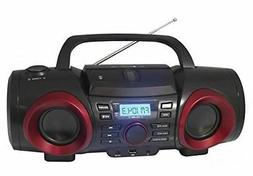 MP3/CD Boombox with Bluetooth