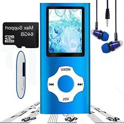 MP3 Player/MP4 Player, Hotechs MP3 Music Player Slim Classic