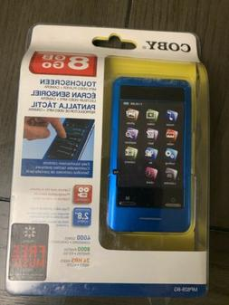 """Coby MP828-8G 8GB 2.8"""" Touchscreen MP3/MP4 Video Player & Ca"""