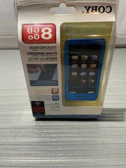 Coby MP828 Blue  Digital Media Player