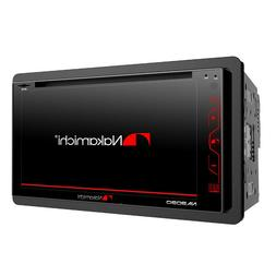 Nakamichi NA3030 Double DIN DVD/CD/MP3 Player Built-in GPS B