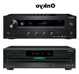 Onkyo Network Stereo Audio Component Receiver,  + Onkyo DXC3